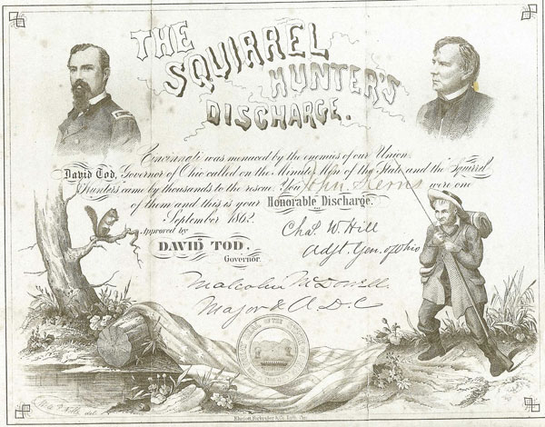 Squirrel Hunters Certificate